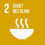 Okončati glad, postići sigurnost u opskrbi hranom, unaprijediti kvalitetu prehrane i promovirati održivu poljoprivredu