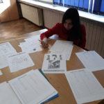 Marijana sastavlja popis riječi